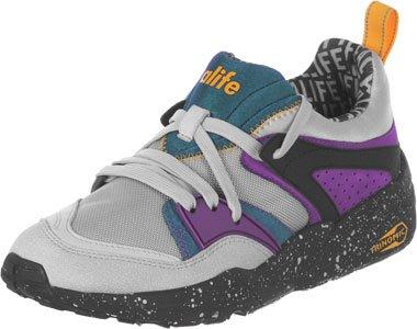 PUMA Blaze of Glory X Alife Schuhe Herren Sneaker Turnschuhe Grau 359800 01 Grau