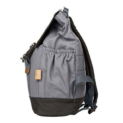 Lässig Vintage Little One und Me groß Backpack Wickelrucksack/Wickeltasche inkl. Wickelzubehör, grey - 3