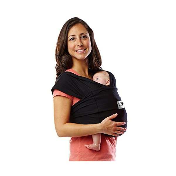 Baby K'Tan Baby Cotton Carrier (Medium, Black) Baby Ktan Easy to use and put on: NO WRAPPING INVOLVED.  6 positions to conveniently carry baby & toddlers from 8 lbs to 35 lbs 100% soft natural cotton with unique one-way stretch Unique HYBRID double-loop design holds baby securely and evenly distributes weight across back and both shoulders. Washer & dryer safe 1