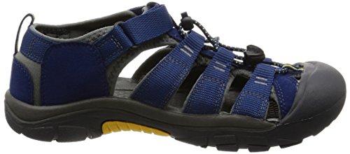 Keen Unisex-Kinder Newport H2 Sandalen Trekking-& Wanderschuhe Blau (Blue Depths/Gargoyle)