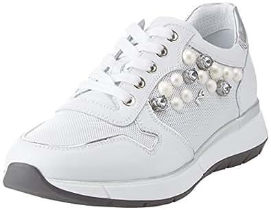 Nero Giardini Skipper, Sneaker Donna, Bianco, 36 EU