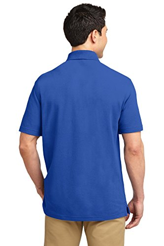 Port Authority ezcotton Pique Polo Shirt Kobaltblau