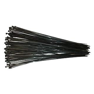Kabelbinder 430mm Schwarz 100Stck. | Premiumqualität von PC24 Shop & Service