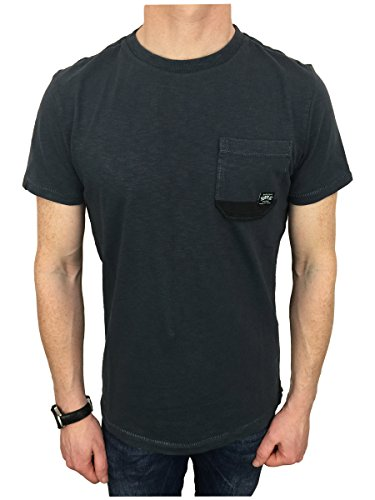 Superdry Herren T-Shirt Surplus Goods Pocket Grau