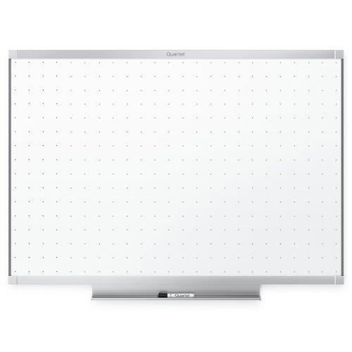 Quartet Prestige 2 Total Erase Whiteboard, 6 x 4 Feet, Aluminum Frame (TE547AP2) by Quartet