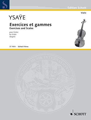 Übungen und Tonleitern: Tägliche Übungen. Violine. (Edition Schott)