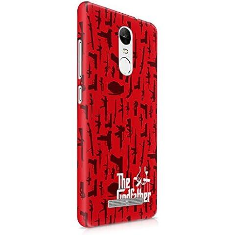 The Godfather Gun Pattern Xiaomi Redmi Note 3 Hard Plastic Phone Case Cover