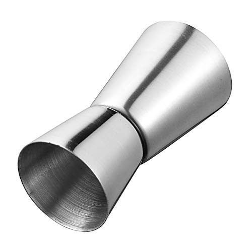 ILS - Stainless Steel Jigger Drink Spirit Shot Measure Measuring Cup Cocktail Wine Bar Shaker 15-30ml