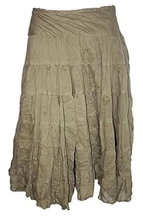 Littlewoods Khaki Gypsy Skirt_8