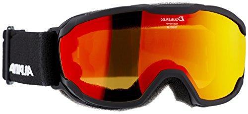 ALPINA Kinder Pheos Jr. Skibrille, Black, One Size