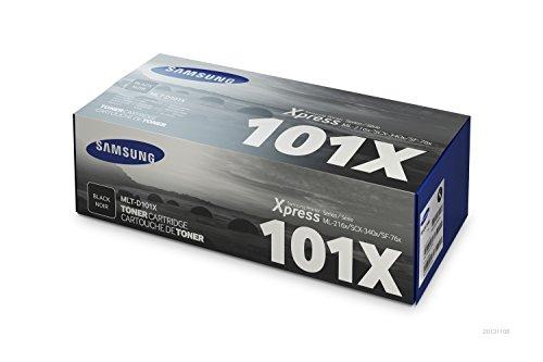 Samsung MLT-D101X Toner und Bildtrommel schwarz (Modell Farb-laser-drucker)