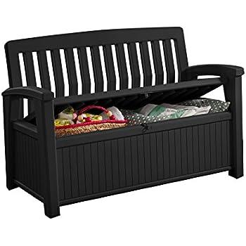 koll living gartenbank aufbewahrungsbox auflagenbox 227. Black Bedroom Furniture Sets. Home Design Ideas