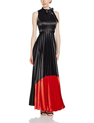 RIVIVI 6269 Damen Kleid Katherine 7 Mehrfarbig (Meteorite/High Risk Red 19-4008/18-1763)