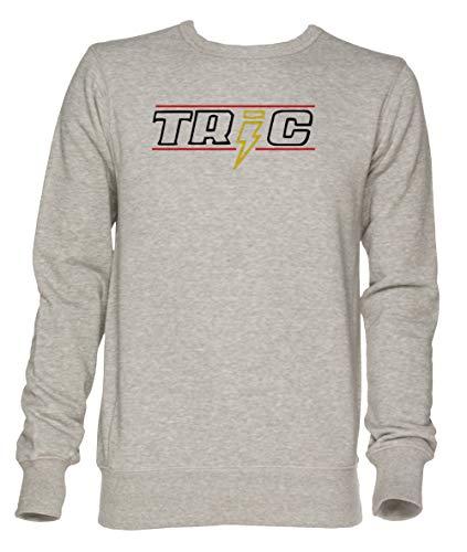 Tric - Peyton, Oth Unisex Grau Jumper Sweatshirt Herren Damen Größe L | Unisex Jumper Sweatshirt for Men and Women Size L