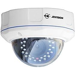 JVS-N5DL-DC / Jovision IP Dome Kamera, 2MP für Indoor und Outdoor, 2 MegaPixel, Full HD, 1080P, Außenkamera, Überwachungskamera, Sicherheitskamera, Netzwerkkamera, Bewegungserkennung, Email Alarm, Spritzwasser und staubgeschützt (IP66), Schutz vor Vandalismus, Objektiv Richtung manuell verstellbar