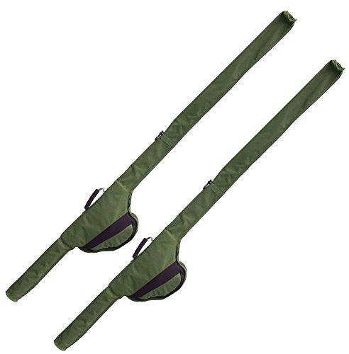 2 G8DS® Rutentaschen Sleeve für 12 ft Ruten auch passend für Big Pit Rollen Karpfenangeln Ausrüstung Meeresangeln (2)