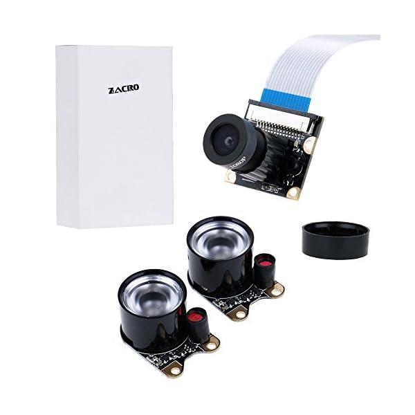 41M8RFGKy7L. SS600  - Zacro Módulo de Cámara con Sensor Cámara de Vídeo de HD Soporte Visión Nocturna para Raspberry Pi 3 Modelo B B + A + RPi 2 1 Cámara SC15