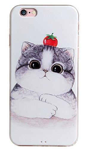 Voguecase® für Apple iPhone 7 4.7 hülle, Schutzhülle / Case / Cover / Hülle / TPU Gel Skin (Mathematik Formel 01) + Gratis Universal Eingabestift Tomaten Kätzchen