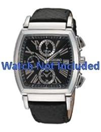 Correa de reloj Seiko 7t92 0hp0/SNDZ99P1 (no incluidos en el reloj. Correa de reloj original solamente)