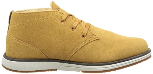 Skechers On the Go, Chaussures Lacées Homme Jaune (Wtn Miel)