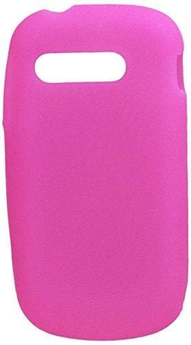 Aimo Soft n Snug Silikon-Schutzhülle für Alcatel Venture/One Touch Premiere, hot pink