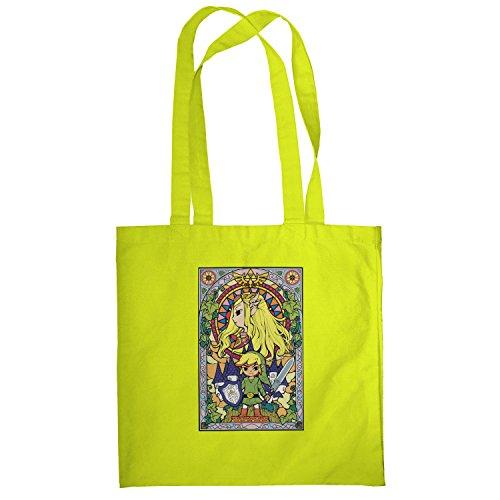 Texlab–Window Link–sacchetto di stoffa Gelb