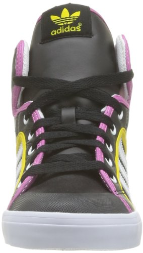 adidas Originals Honey Hoop W, Baskets mode femme Noir (Noir1/Blanc/Jautri)