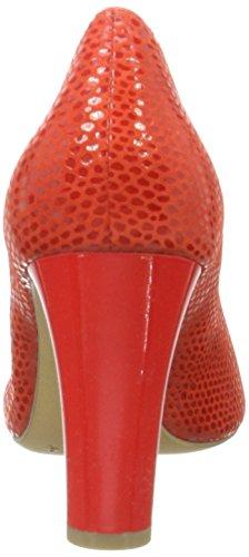 Caprice 22407, Escarpins Femme Rouge (Red Rept.comb)