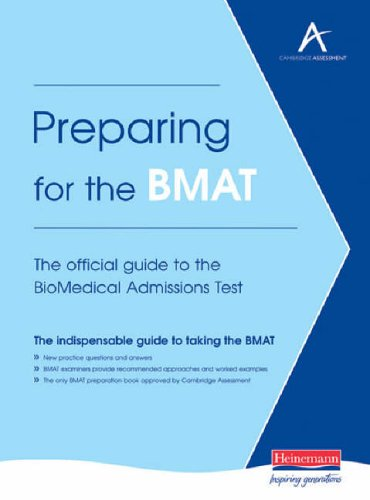 preparing for the bmat biomedical admissions test essay The final part of the bmat exam, bmat section 3 is the writing task it's testing your ability to form your own argument  writing a short essay in essence it is testing your ability to formulate your own argument  this planning is a key element of bmat section 3 preparation, and can be practiced quickly in the exam room to give your.