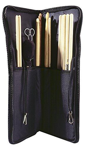 Trommelstocktasche - Drumsticktasche Nylon schwarz