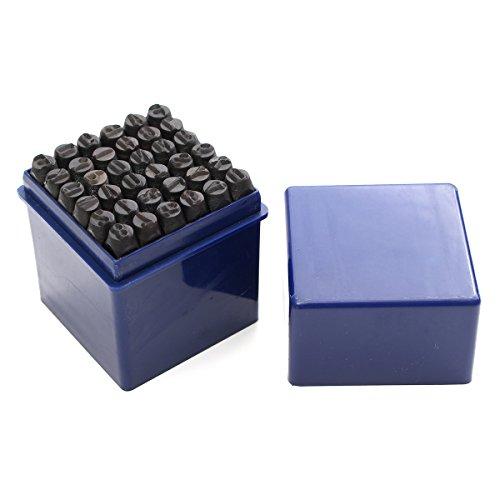 l Stanzen Alphabet Buchstaben Nummern Stamp Tool Metall Lederhandwerk ()