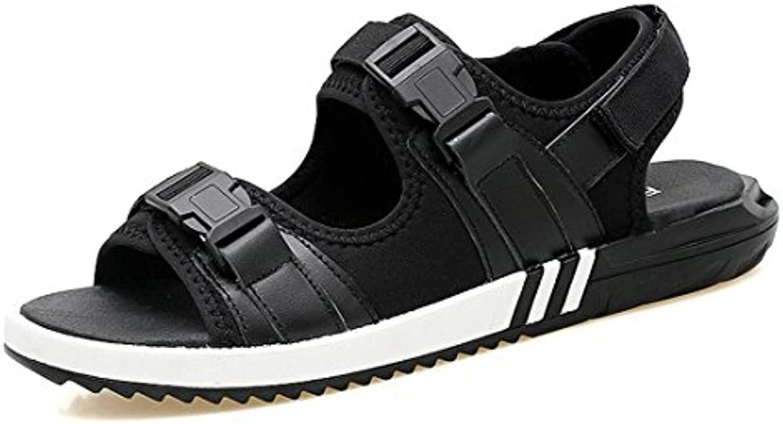 GCH der Sommer Herren Casual Schuhe aus Leder Strand Hausschuhe Sandalen