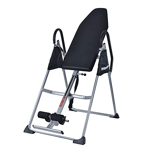 YoLiy Ergonomische Fitnessgeräte Haushalt Schwerkraft Fitness Inversion Klapptisch Tisch einstellbar (Farbe : Schwarz, Größe : 131 * 77.5 * 14cm) -