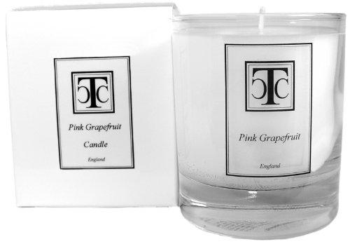 The Candle Company Ttc - Vela aromática de Incienso (40 Horas, Cera, 7 x 7 x 9,3 cm), Color Blanco