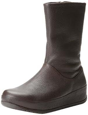 FitFlop Women's Joplin Boot,Brown,11 M US