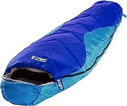 Loftra Kinder Schlafsack Starlite Junior 175 x 70 x 45 cm Mumienschlafsack Kinderschlafsack +11 °C