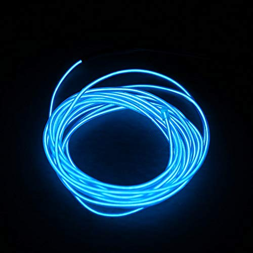 Computer & Office Generous Battery Operated Luminescent Neon Led Lights Glow El Wire String Strip Rope Fine Quality