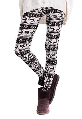 Inception Pro Infinite Leggings para Mujer - Cálido - Fantasía - Blanco y Negro - Navidad - Navidad - Idea de Regalo -