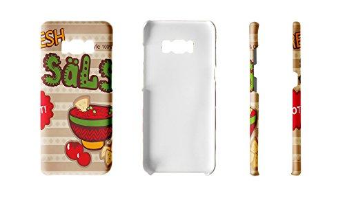 LEotiE SINCE 2004 Handy Schale passend für Samsung S8 Retro Salsa
