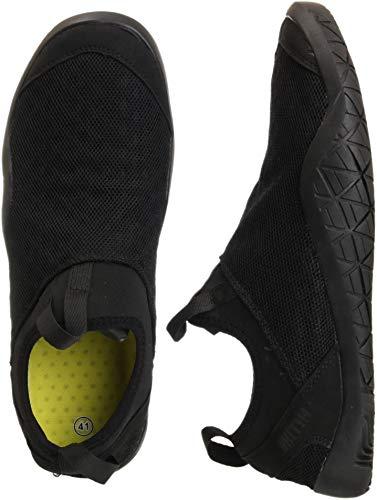 WHITIN Scarpe Barefoot Uomo Scarpe da Trail Running Scarpe da Corsa su Strada,Scarpe per Camminare Naturale Trekking Palestra Fitness Asciugatura Rapida Water Shoes Nero 42 EU