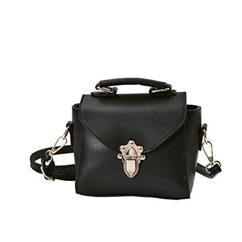 KYFW Womens Fashion Lock Handtasche Schulter Diagonal Gezeiten Kleine Square Bag C