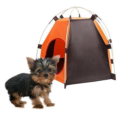 yooyoo portable pliable pour chien Maison Tente de lit intérieur ou extérieur Tipi pour chat étanche
