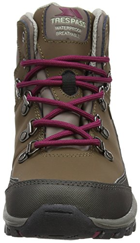 Trespass Glebe, Chaussures de Randonnée Hautes Mixte Enfant Marron (Earth)