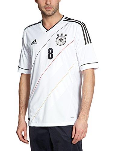 adidas Herren Trainingsshirt DFB Trikot Home Özil EM, Weiß/Schwarz, XXXL, L07732