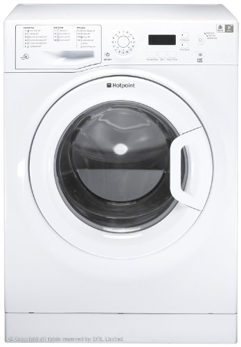 Treat your clothes to the care they deserve with the Hotpoint WMXTF 842P.M Washing Machine in white.