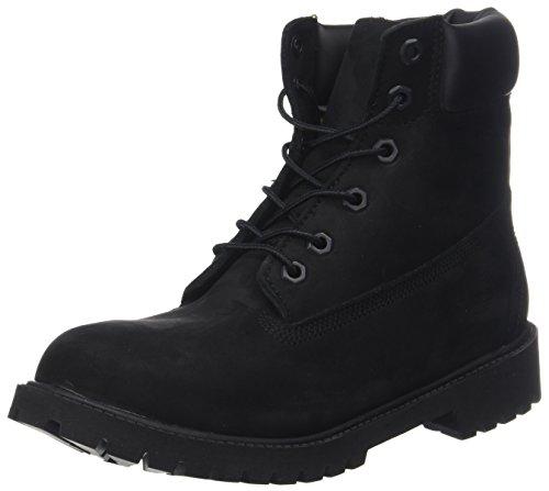 sic Boot - 6 in Premium WP Boot, Unisex-Kinder Kurzschaft Stiefel, Schwarz (Black Nubuck), 38 EU (5 Kinder UK) (Schwarze Stiefel Kind)