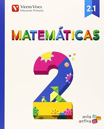 Matematicas 2 (2.1-2.2-2.3) Aula Activa - 9788468228341 por Javier Fraile Martin