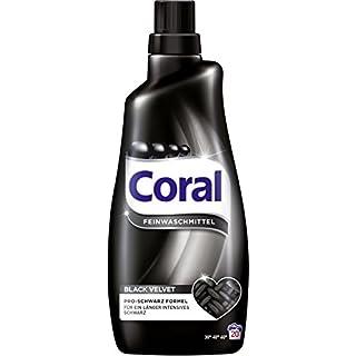 Coral Feinwaschmittel Black Velvet flüssig, 20 WL