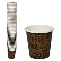 High Quality Disposable Paper Coffee Cup, 2.5 oz, PE Coated - 50 Cups