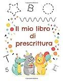 Il mio libro di prescrittura: Attività per imparare a scrivere